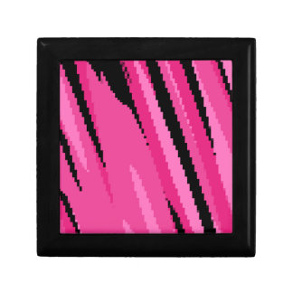 pink gray and black abstract gift box