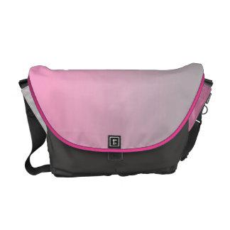 Pink & Gray Ombre Messenger Bag
