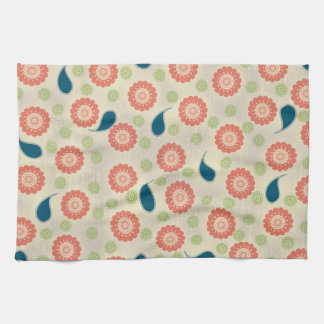 Pink, Green, and Blue American MoJo Kitchen Towels Kitchen Towels