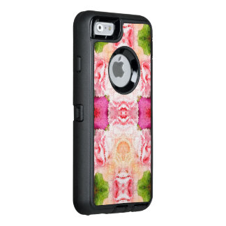 Pink Green Floral Abstract OtterBox iPhone 6/6s Case