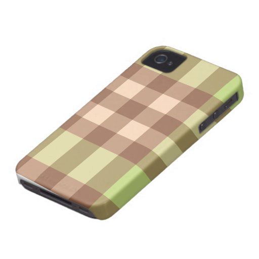 Pink Green Plaid Striped Design Blackberry Cas Blackberry Bold Cases