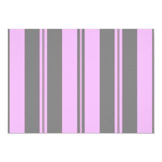 Pink & Grey Invite