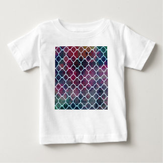 Pink Grunge Moroccan Style Baby T-Shirt
