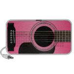 Pink Guitar Doodle Speaker