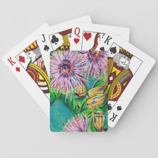 Pink Gum Playing Cards