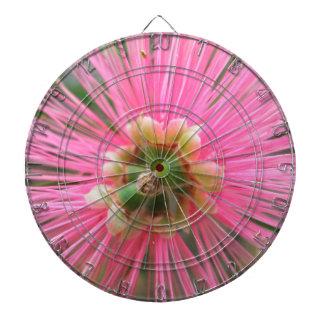 Pink Gum Tree Flower Dartboard