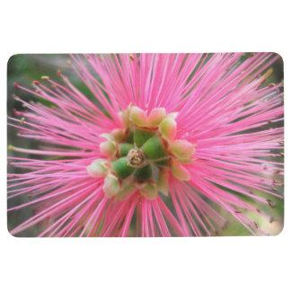Pink Gum Tree Flower Floor Mat