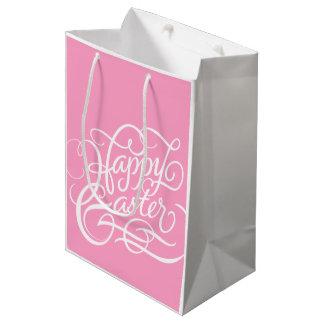 PINK HAPPY EASTER | PAPER BAG