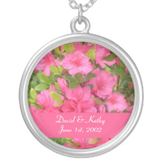 Pink Hardy Azaleas Flower Necklace