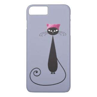 Pink Hat Kitty Cat iPhone 8 Plus/7 Plus Case