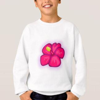 Pink Hawaii Flower Sweatshirt