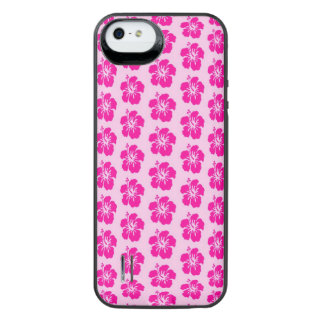 Pink Hawiian iPhone SE/5/5s Battery Case
