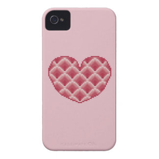 Pink Heart Blackberry Bold Barely There Case