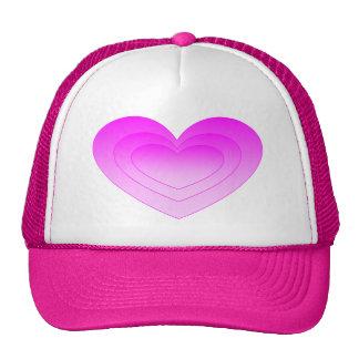 Pink Heart Cap