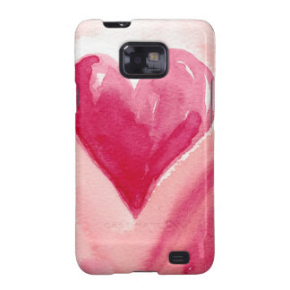 Pink Heart Galaxy S2 Cases