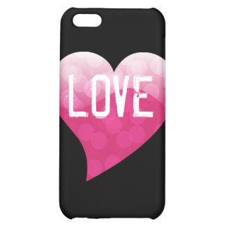pink heart case for iPhone 5C