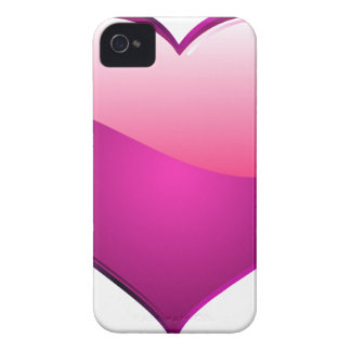 Pink Heart Case-Mate iPhone 4 Cases