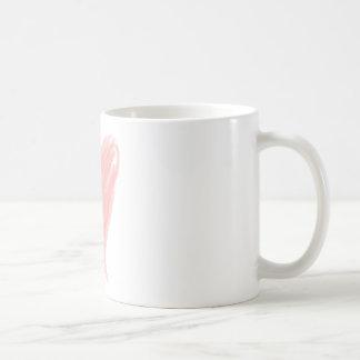 Pink Heart Coffee Mug