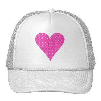 Pink Heart Collection Cap
