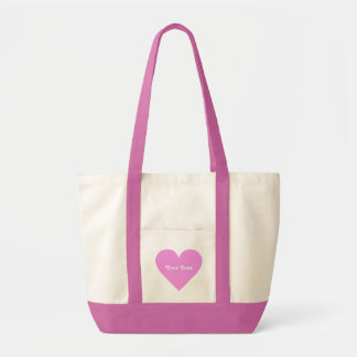 Pink Heart custom bags
