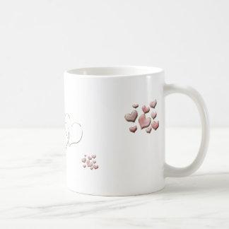 Pink Heart Cute Mug