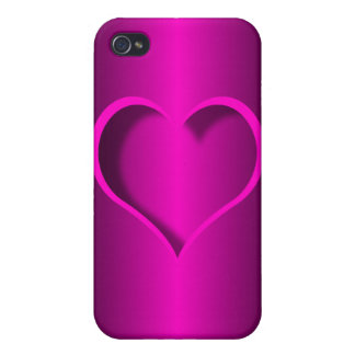 pink heart cases for iPhone 4