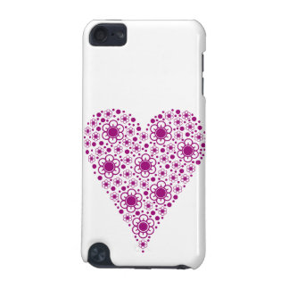 pink heart iPod touch 5G cover