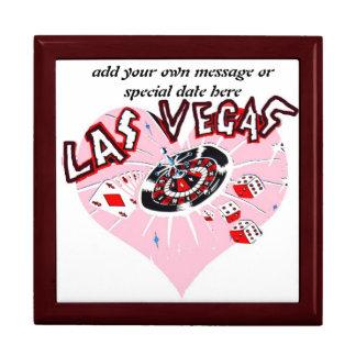 Pink Heart Las Vegas Gift Box
