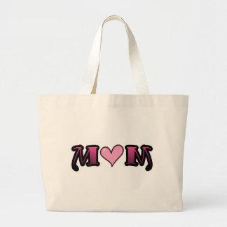 Pink Heart Mom Bag