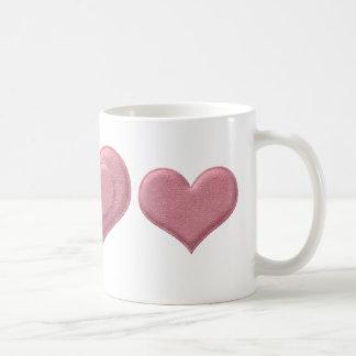 Pink Heart Mug Drinkware