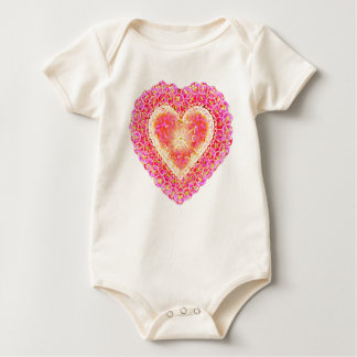 Pink Heart of my Heart Infant Creeper Shirt
