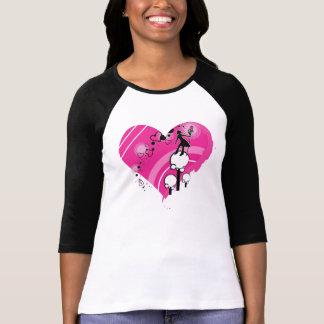 Pink Heart Painted Seeker - Long Sleeve Shirt