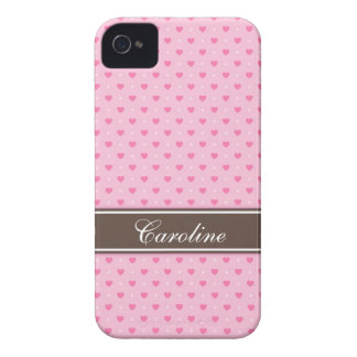 Pink heart polka dots BlackBerry Bold case