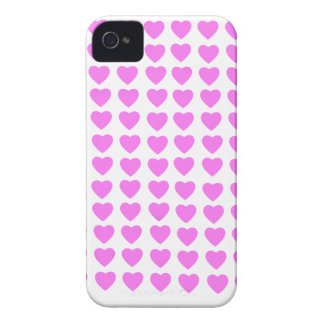 Pink Hearts BlackBerry Bold Case-Mate Barely There iPhone 4 Cover