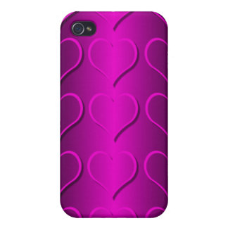 pink hearts case for iPhone 4
