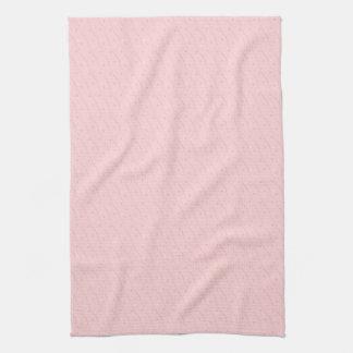 Pink Hearts Kitchen Towel
