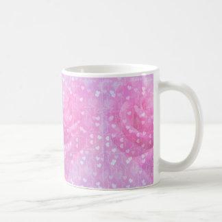 Pink Hearts Love Mug