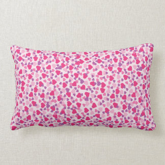Pink Hearts Love Pillow