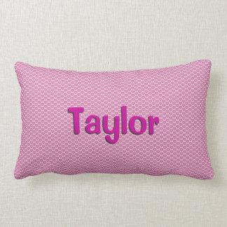 Pink Hearts Lumbar Pillow