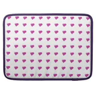 "Pink Hearts Macbook Pro 15"" Sleeve For MacBooks"