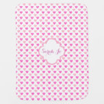 Pink Hearts Pattern Personalised
