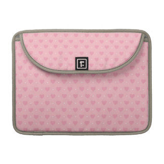 Pink Hearts Sleeve for MacBook Pro
