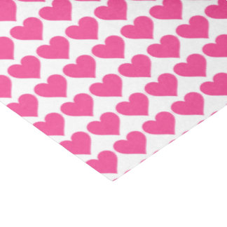 Pink Hearts Tissue Paper