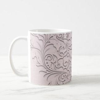 Pink HeartyChic Basic White Mug