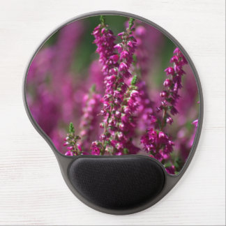 Pink Heather Flowers Gel Office Mouse Pad Gel Mouse Pad