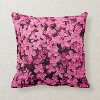 Pink Hedge - Flower Surface Texture Cushion