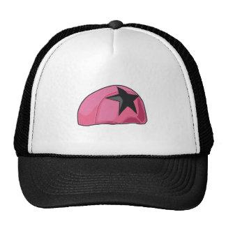Pink Helmet Trucker Hats