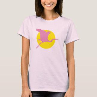 Pink Heron T-Shirt