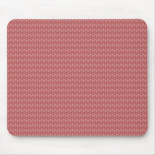 Pink Hexagon Grid Mouse Pads
