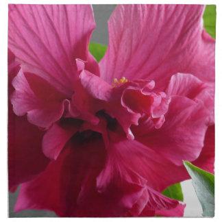 Pink Hibiscus, flourishing alder is gifta Napkin